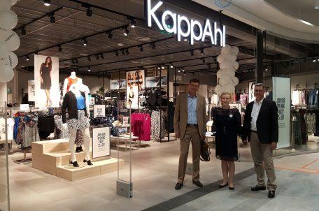 KappAhl öppnade i nya utrymmen i köpcentret Espen